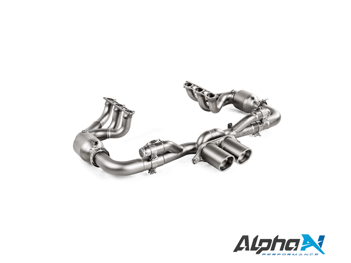 Akrapovic Porsche 911 GT3 (991 2) Evolution Race Header Set